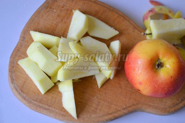 паштет из говяжьей печени с тыквой и яблоками