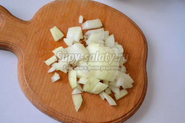 вареники-ушки с сухими грибами и картофелем
