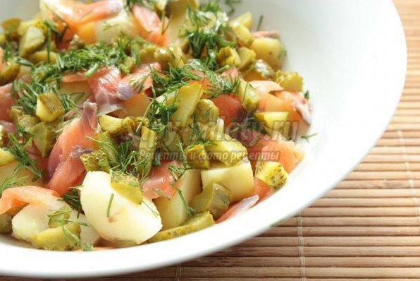 Салаты с картошкой. Избранные праздничные рецепты.