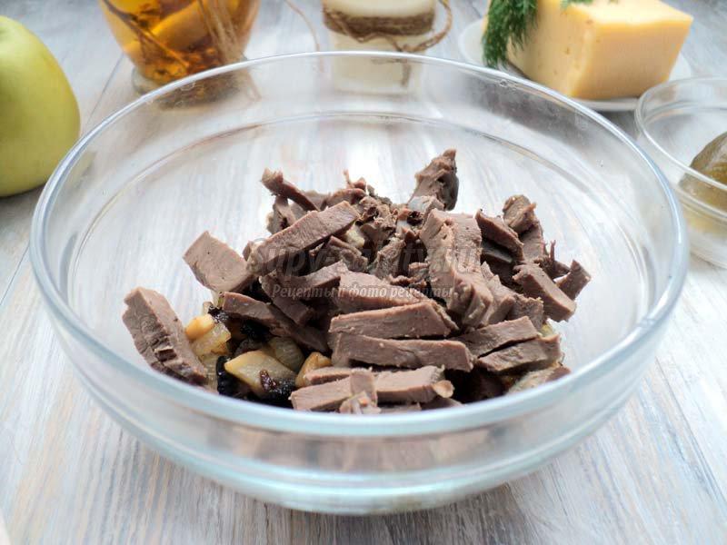 салат сердце с грибами рецепт