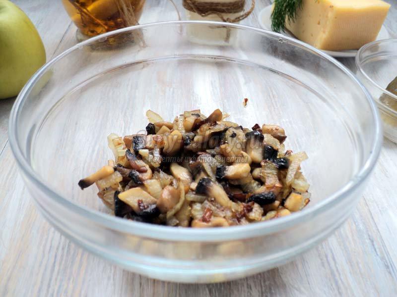 салат из сердца с горошком рецепт с фото