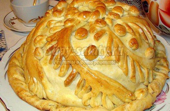 Пирог с мясом и картошкой: вкусные рецепты с фото