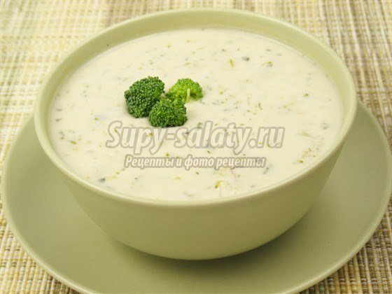 суп из брокколи: популярные рецепты с фото.