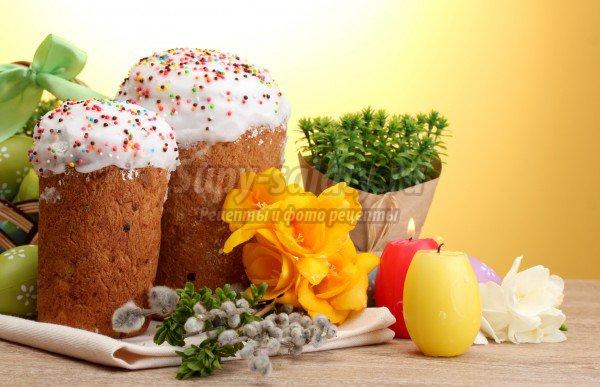 Куличи пасхальные: рецепты для праздника.