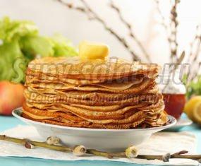 Вкусные блины без яиц: популярные рецепты с фото.