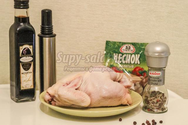 быстрый маринад для курицы или цыпленка
