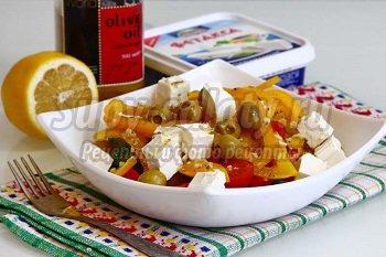 салат греческий классический