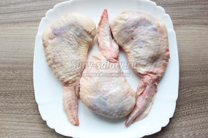 рецепт фаршированных крылышек