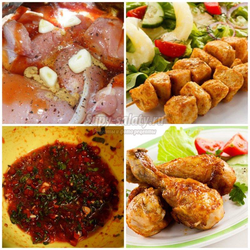 Маринад для курицы: популярные рецепты с фото