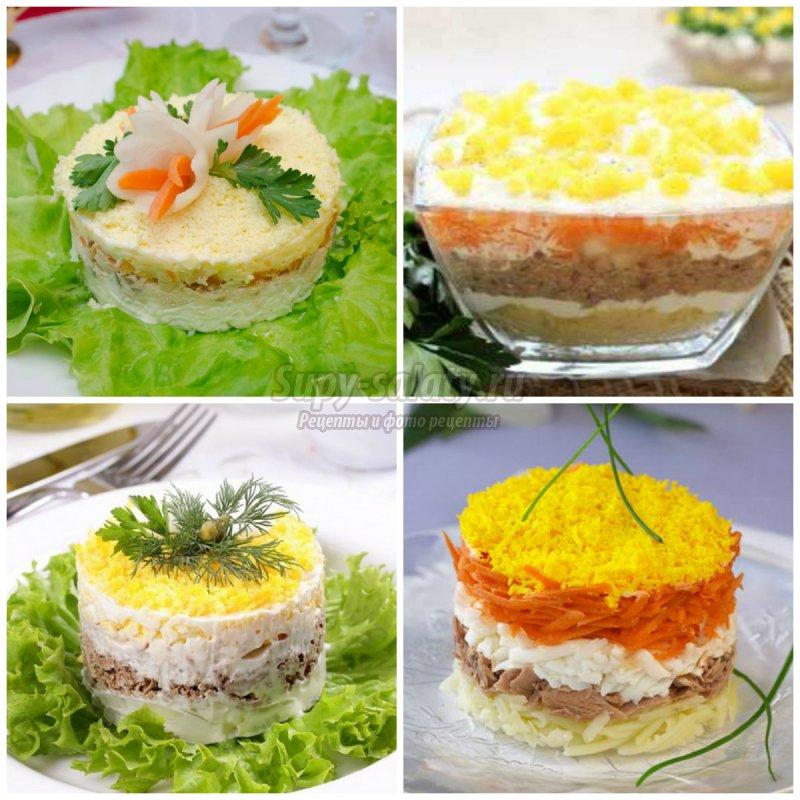Салат мимоза с сайрой: рецепт классический и не только