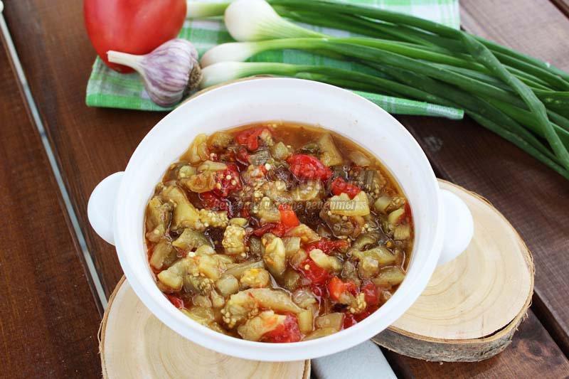 Салат из овощей на мангале рецепты с