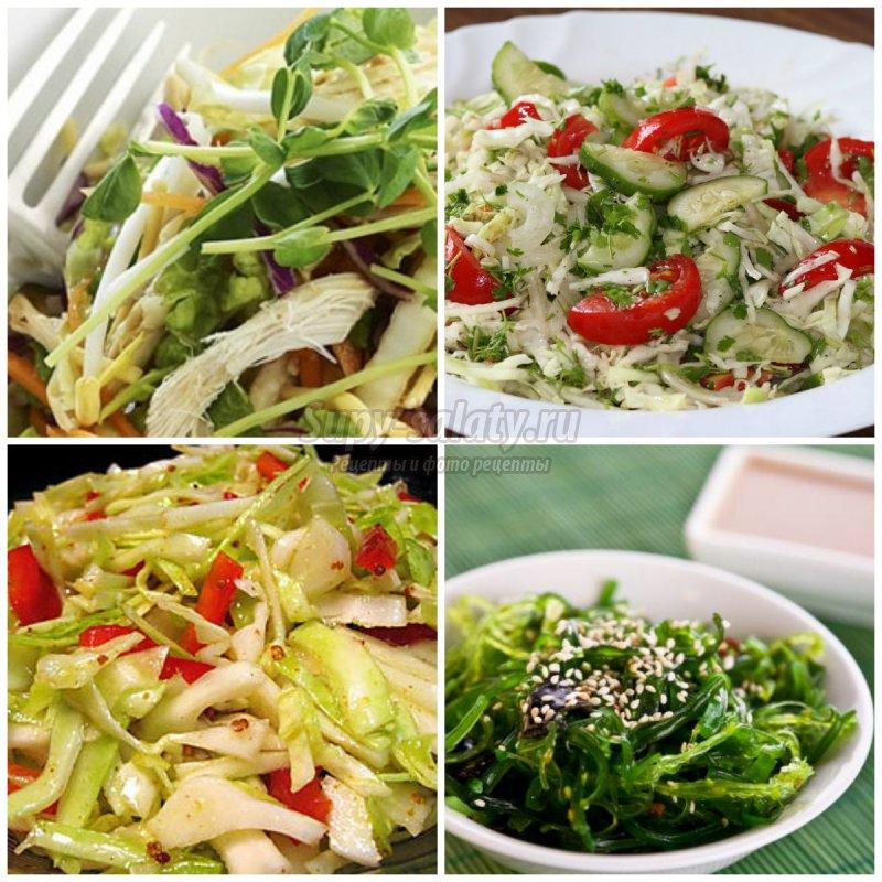 Простой салат из капусты: золотые рецепты с подробными фот
