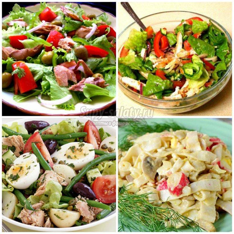 рецепты вкусных салатов из рыбы
