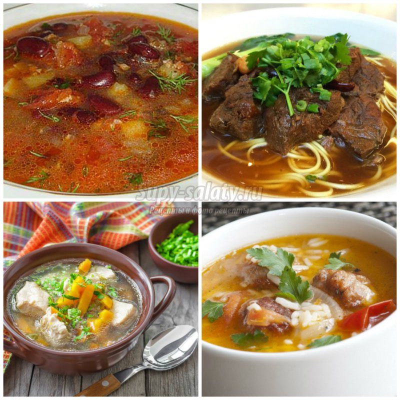 Суп из говядины. Вкусные варианты приготовленя