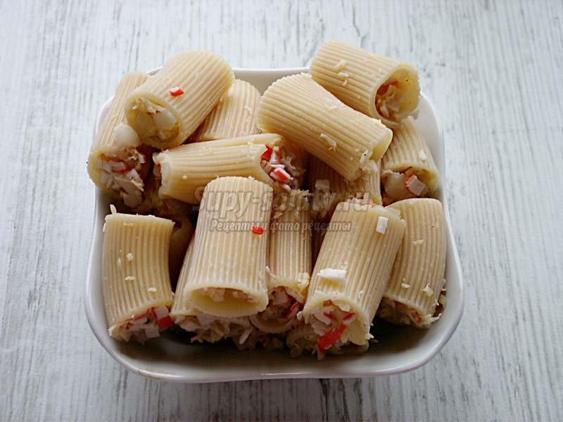 макароны с начинкой рецепты
