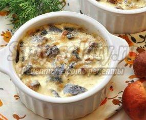 Курица с грибами в духовке: подробные рецепты с фото.