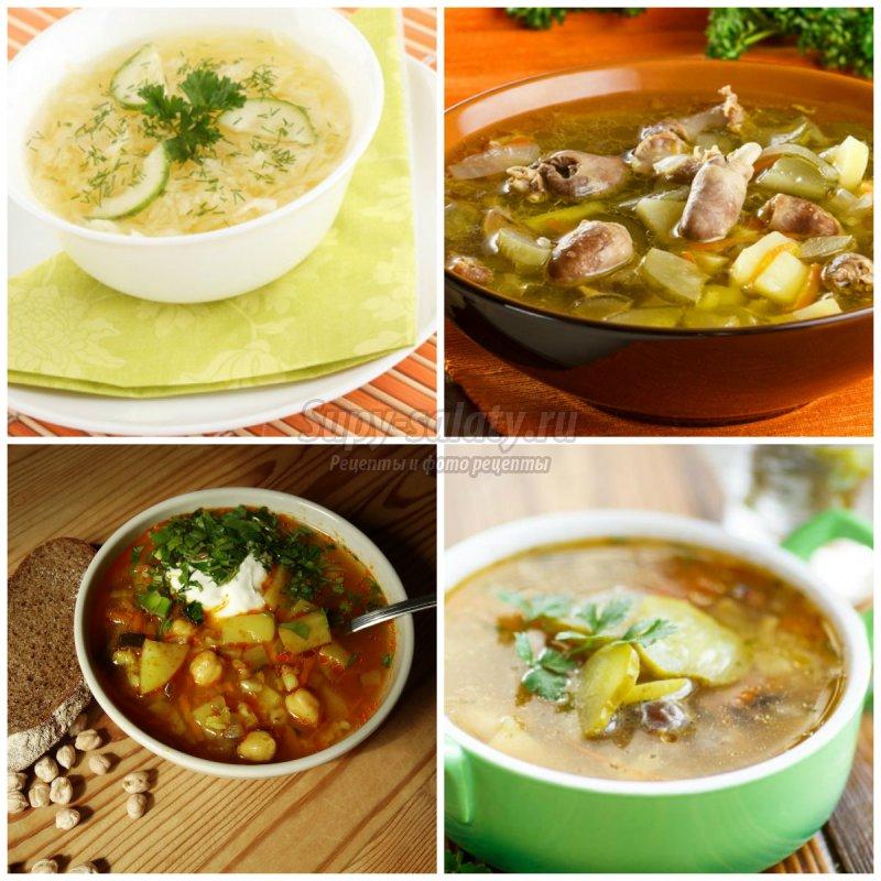 супу с перловкой и солеными огурцами рецепт
