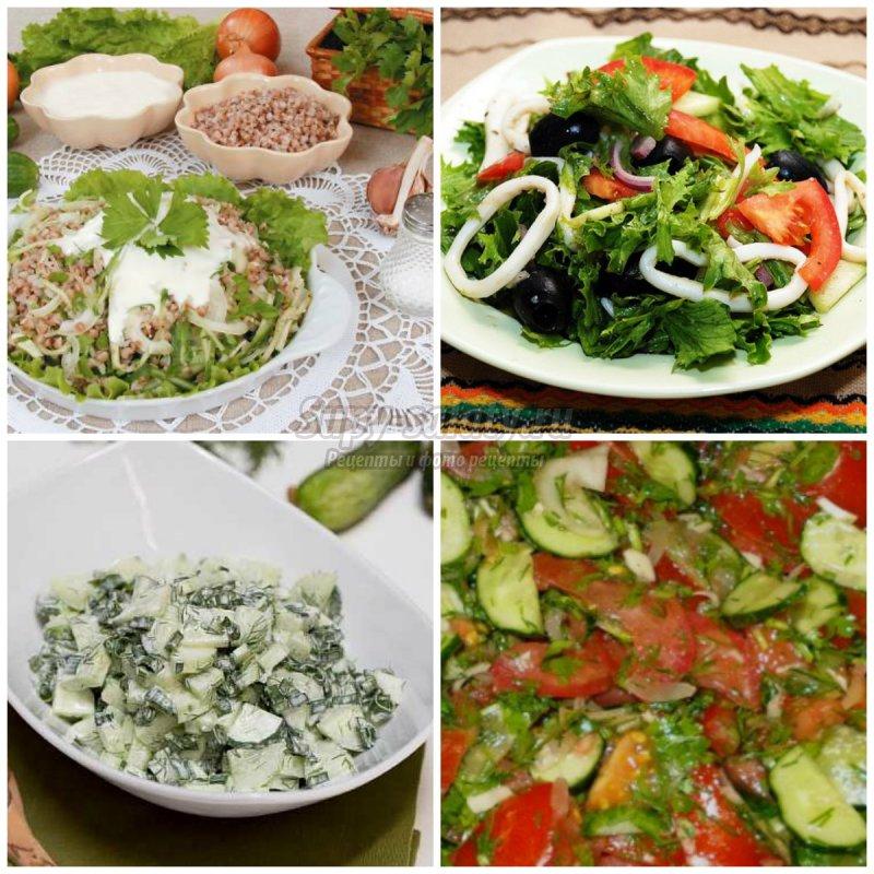 рецепты самых вкусных салатов с майонезом