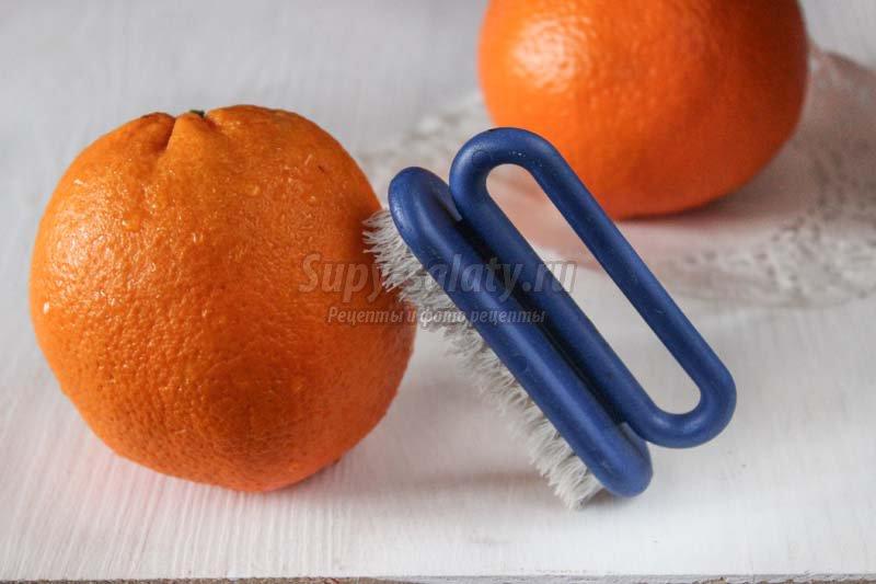 розы кожуры апельсина