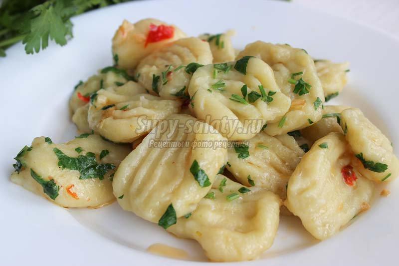 ньоки рецепт картофельные