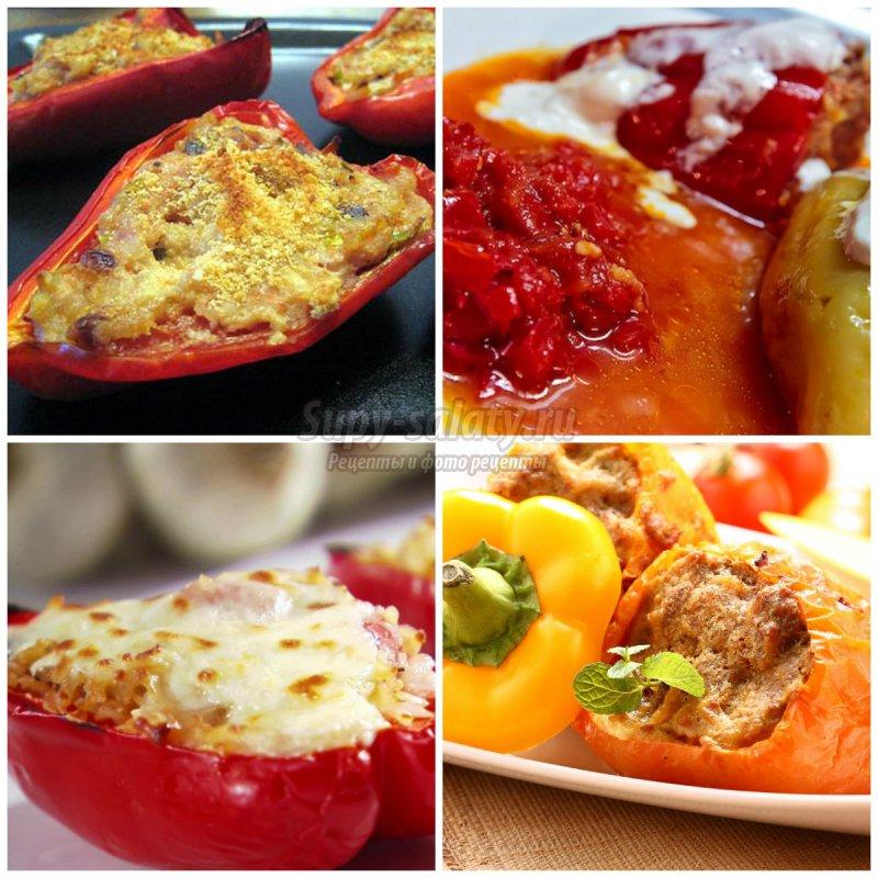 Фаршированный перец с рисом: вкусные рецепты