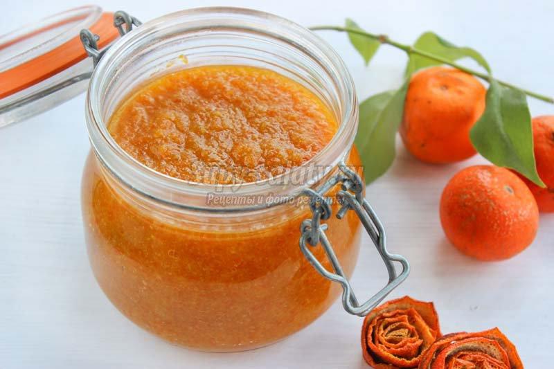 Варенье из мандариновых корок рецепт пошагово