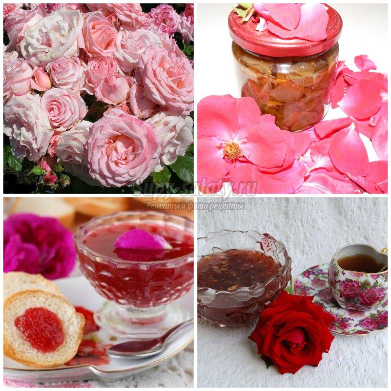 Варенье из розы. Лучшие варианты заготовки.
