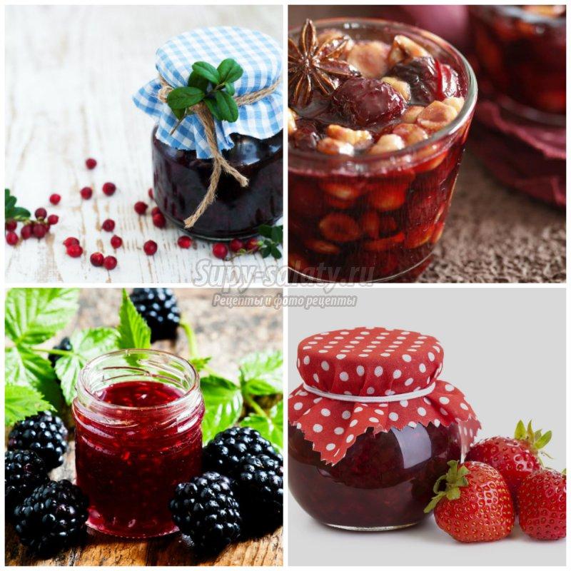 Домашнее варенье из ягод. ТОП-5 рецептов