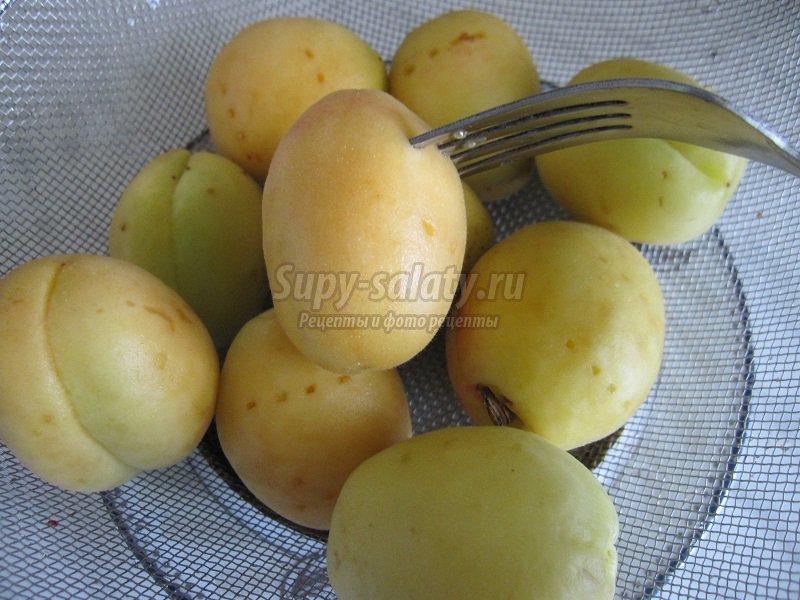 Варенье из абрикосов и черешни
