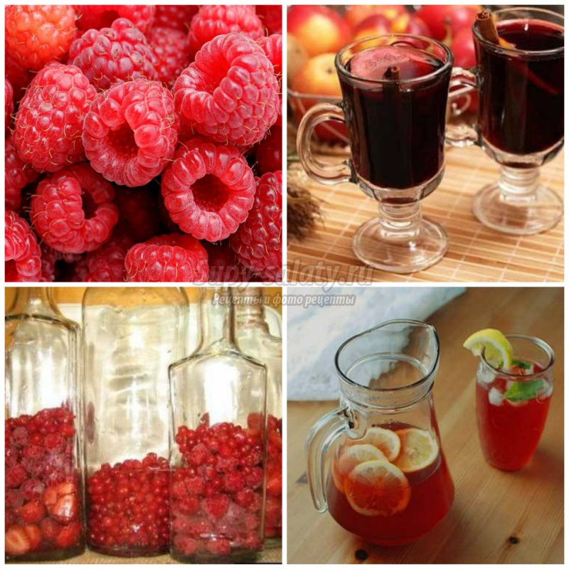 Рецепт вина из малины: готовим вкусно и быстро