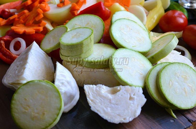 ассорти овощное маринованное