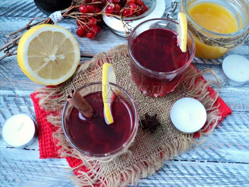 напитки из ягод