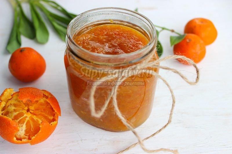 мандариновое варенье рецепт