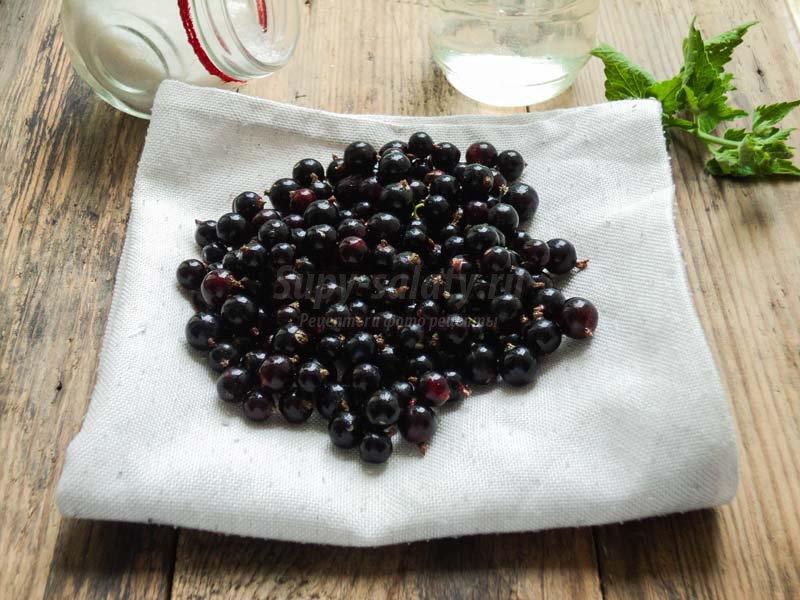 джем из черной смородины