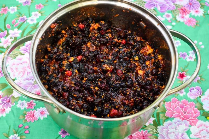 варенье из шелковицы рецепт