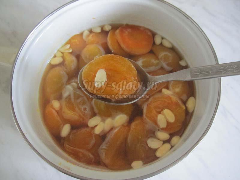 абрикосовое варенье с ядрышками рецепт
