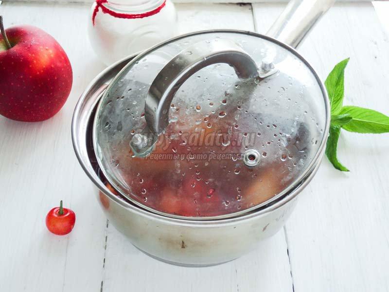 джем из клубники с яблоками