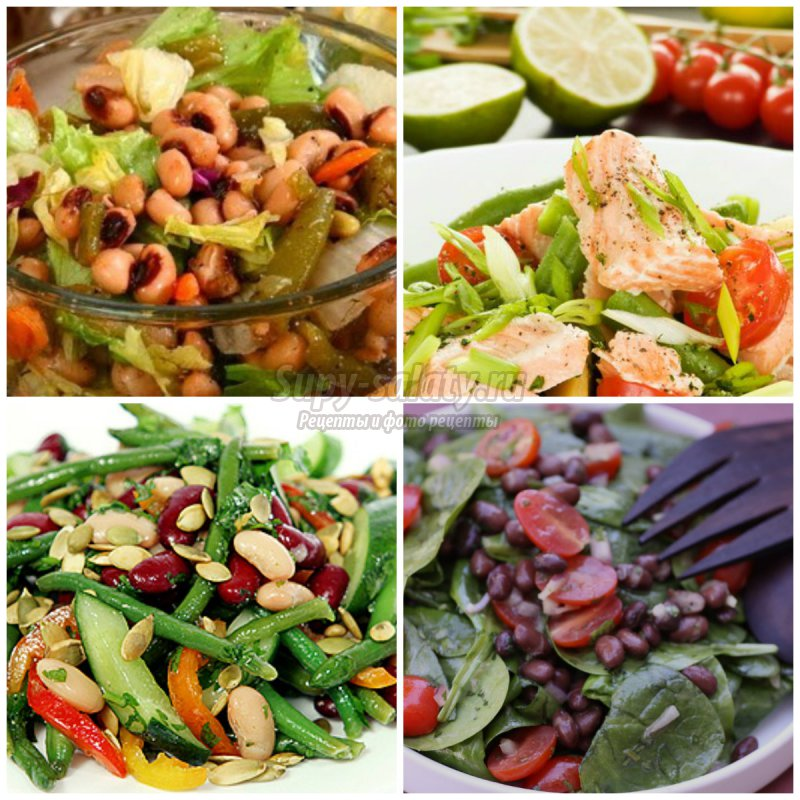 Самые оригинальные салаты рецепты с