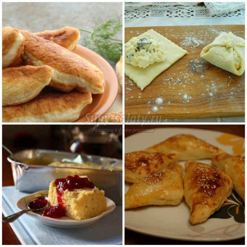 Готовим тесто из творога: лучшие рецепты