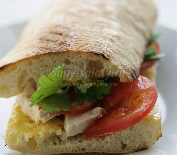 Сэндвич с курицей. Самые вкусные варианты