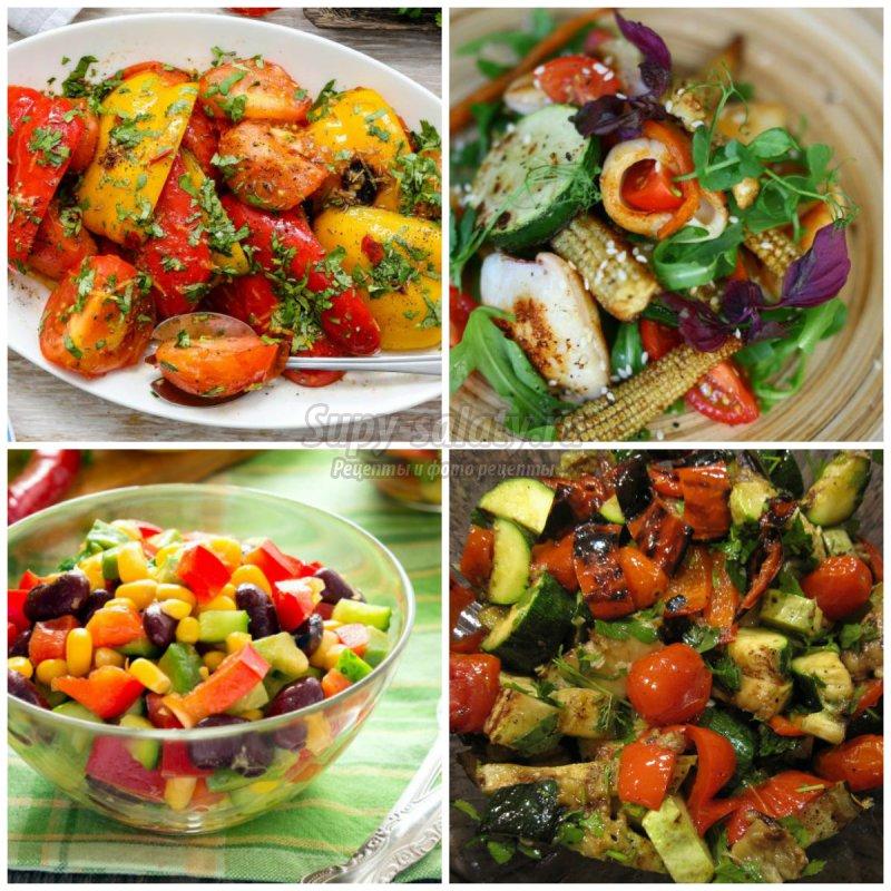 Самые вкусные салаты фото