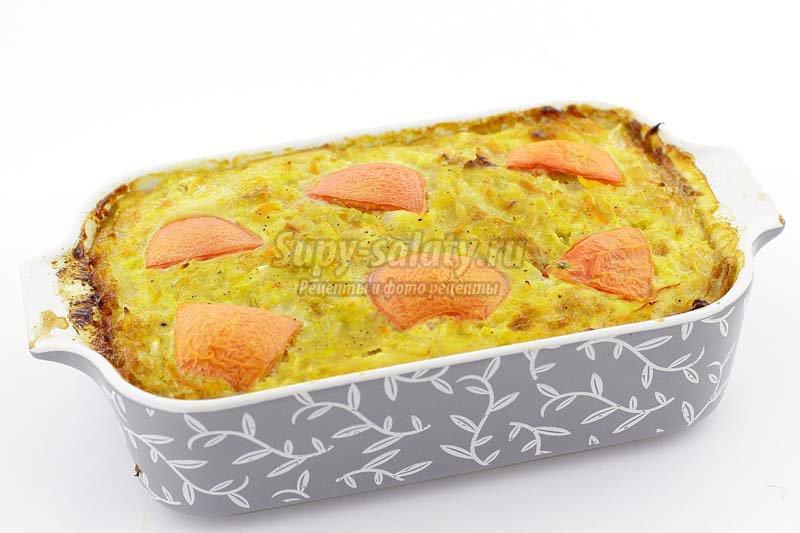 рецепт запеканки из капусты