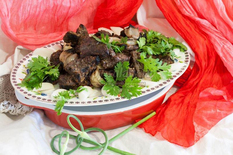 вкусный армянский шашлык