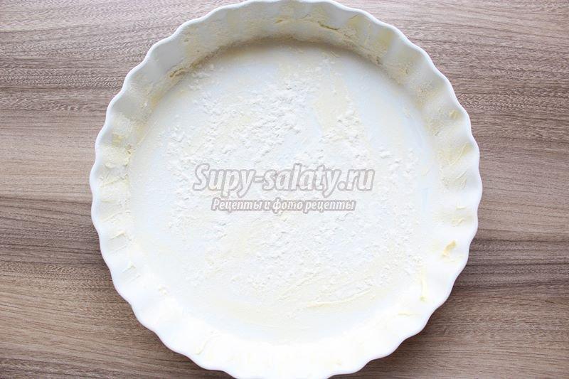 Ягодный пирог со штрейзелем