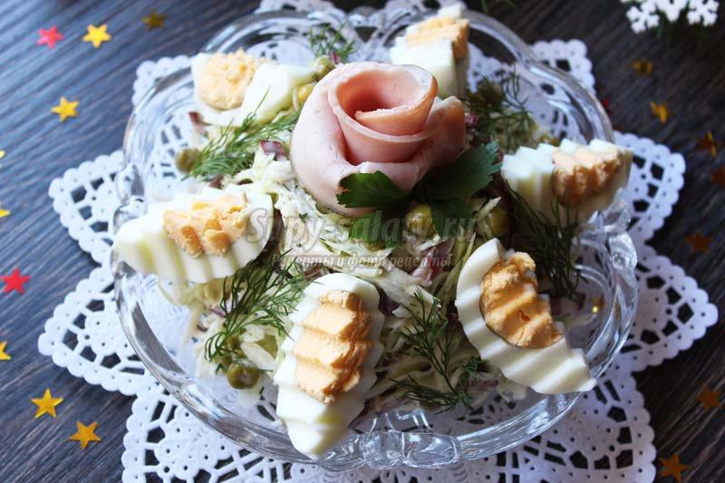 салаты на праздничный стол