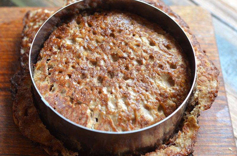 печеночные пирожные рецепт