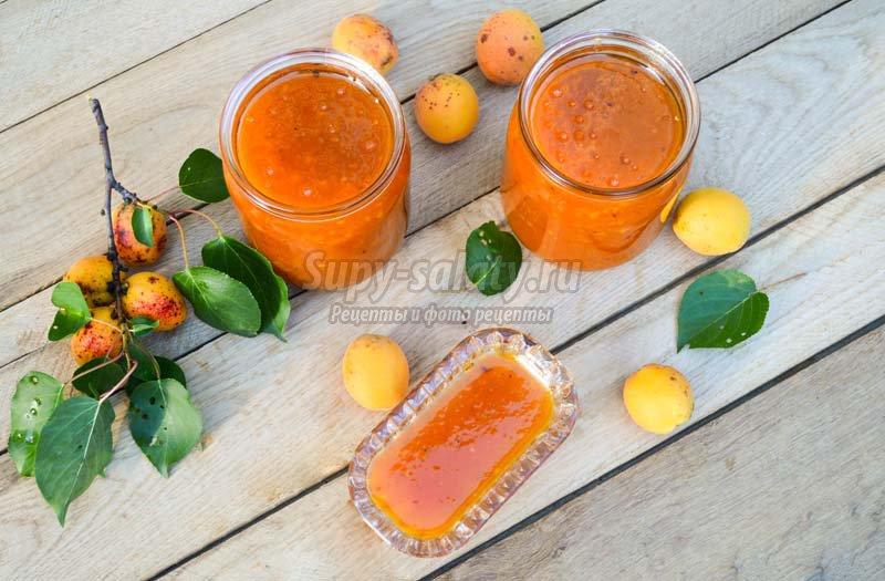 абрикосовое варенье с апельсином
