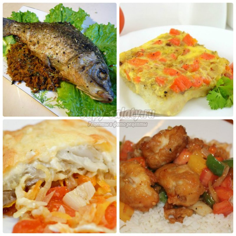 рыба с морковью и луком: готовим вкусно! Пошаговые рецепты с фото