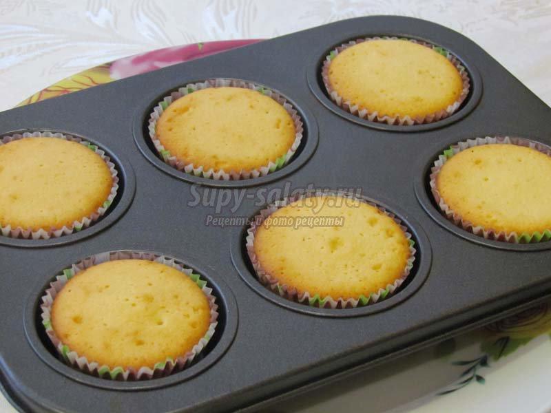 ванильные кексы рецепт с фото