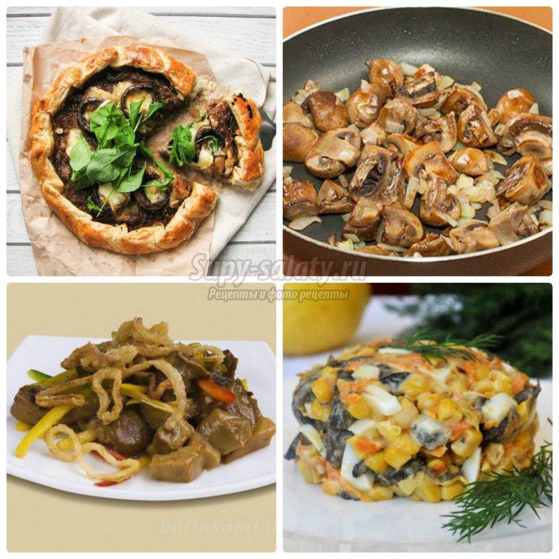 Грибы с луком: готовим вкусно и просто. Подробные рецепты